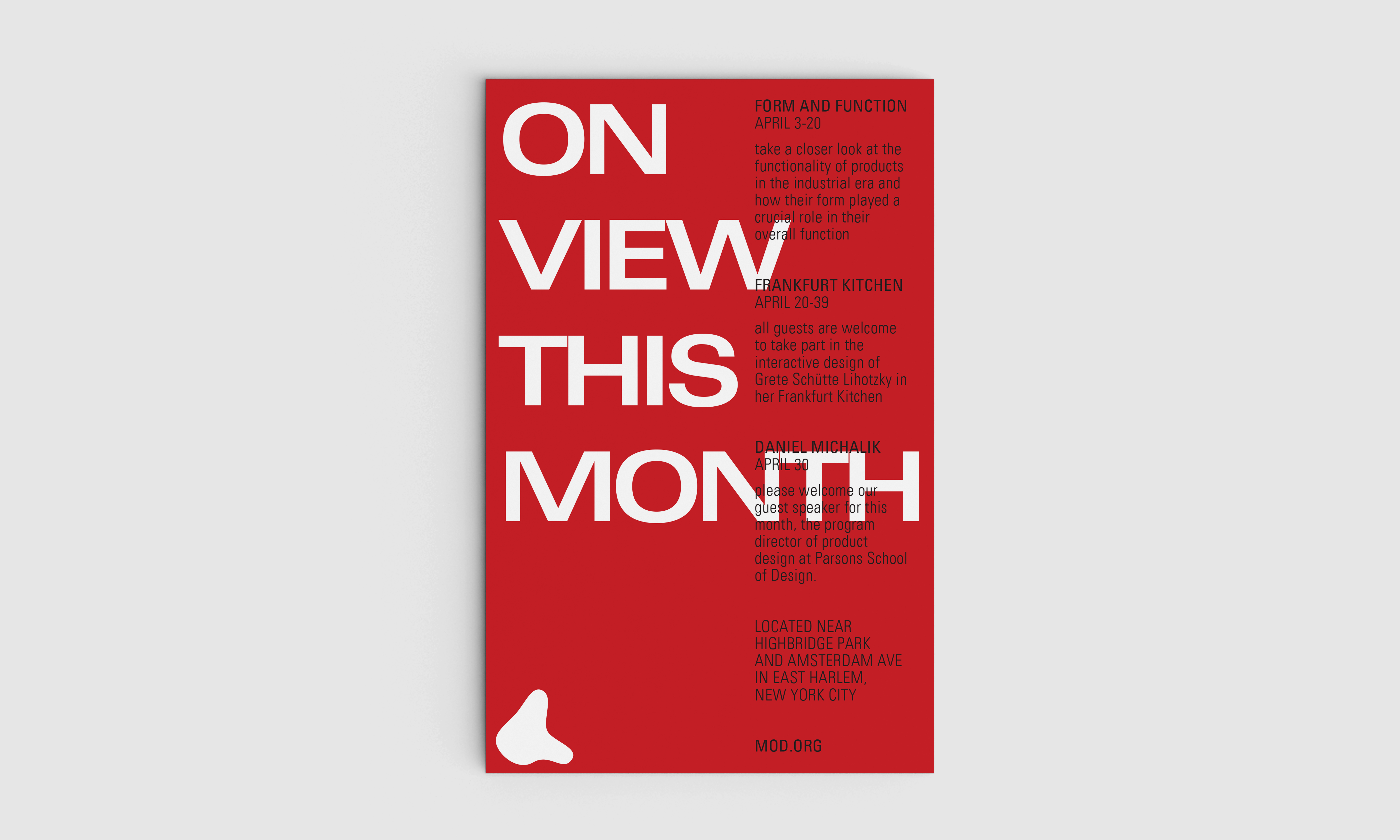 On View This Month Poster